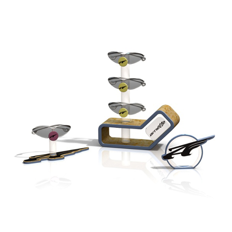 Creative Sunglasses Counter Displays Designed